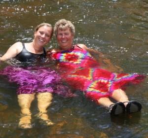 Dobberen in de Blythe River.